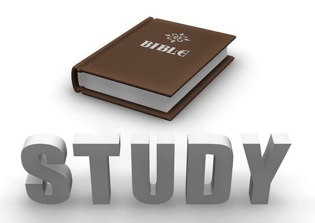 May 30 – Study Your Bibles Always